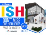 Don't miss our highlights at the exhibition ISH 2017