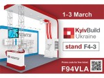 You are welcome to visit our stand at the exhibition KyivBuild Ukraine 2017