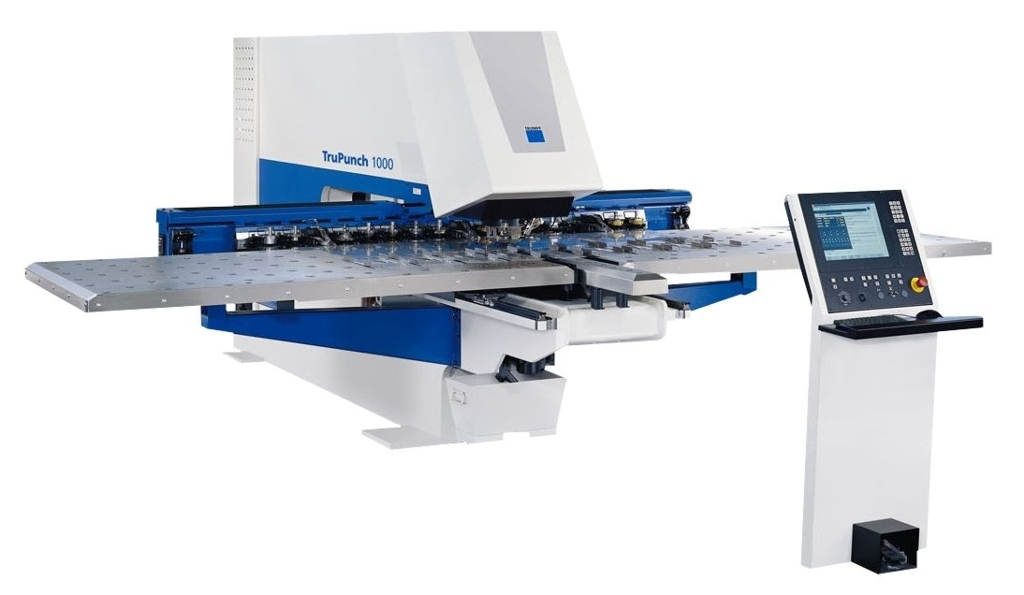 A New Numerically Controlled Punching Machine Trumpf