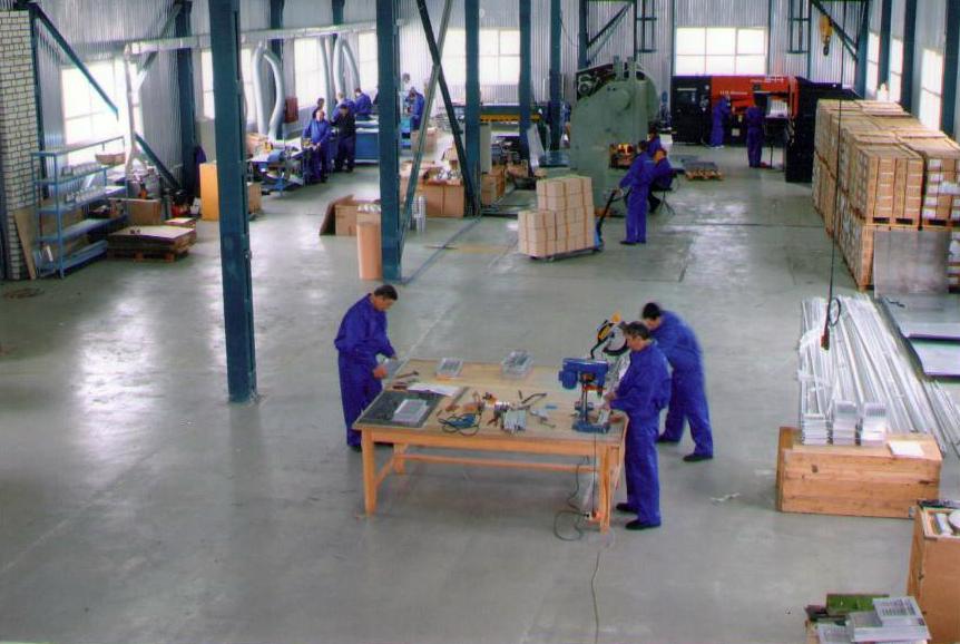 """Эволюция на производстве: цех металлических изделий """" вентс.."""