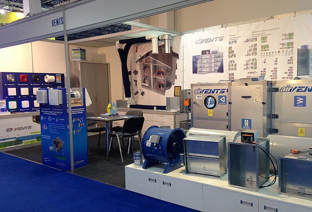 VENTS at Aquatherm Almaty 2017