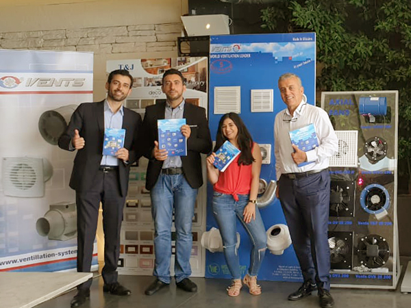 VENTS continues its expansion into Middle Eastern markets